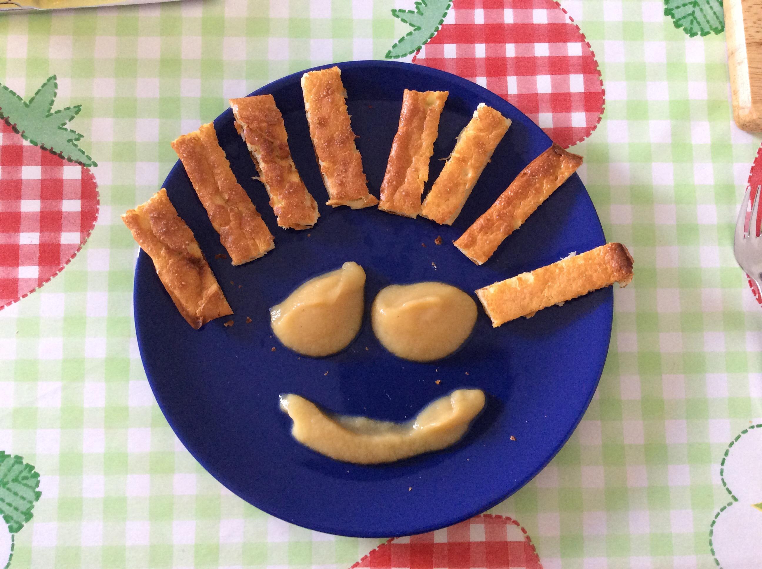 Ofen -Pfannkuchen